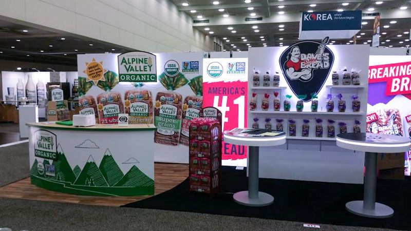 daves bread trade show displays