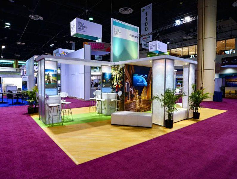 meet puerto rico trade show displays
