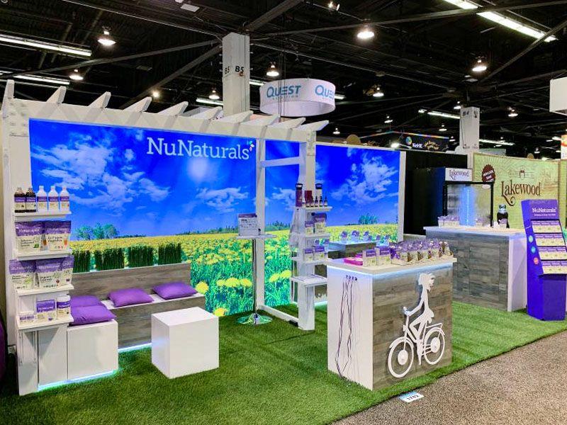nu naturals trade show displays