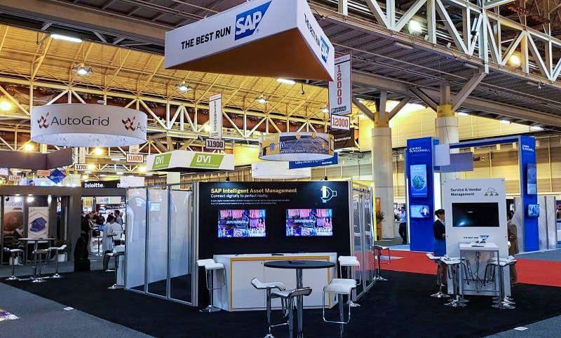 sap trade show displays