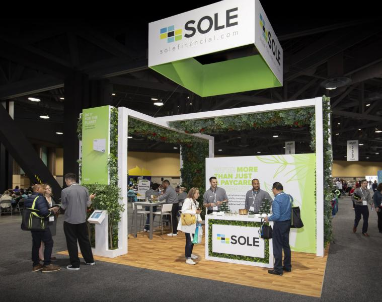 sole trade show displays