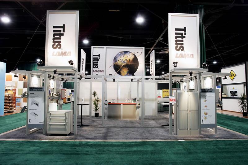titus trade show displays