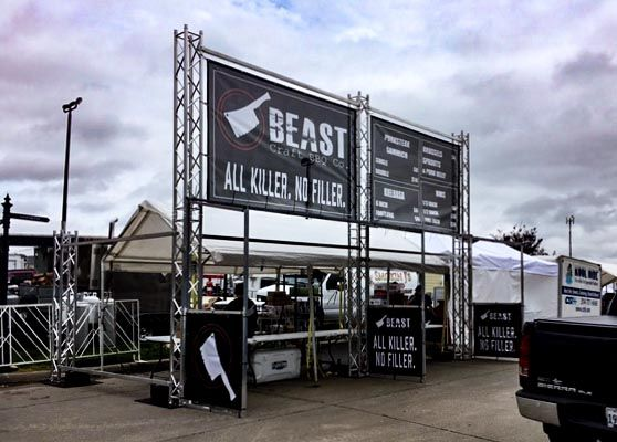 beast craft bbq banners
