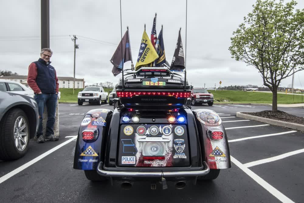 patriot guard vinyl car wrap