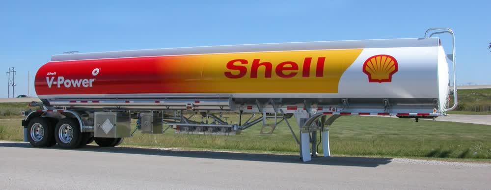 shell v power vinyl car wrap