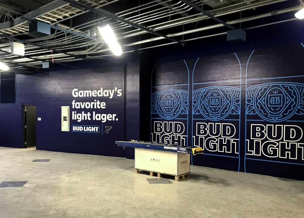 bud light lager wall decals graphics