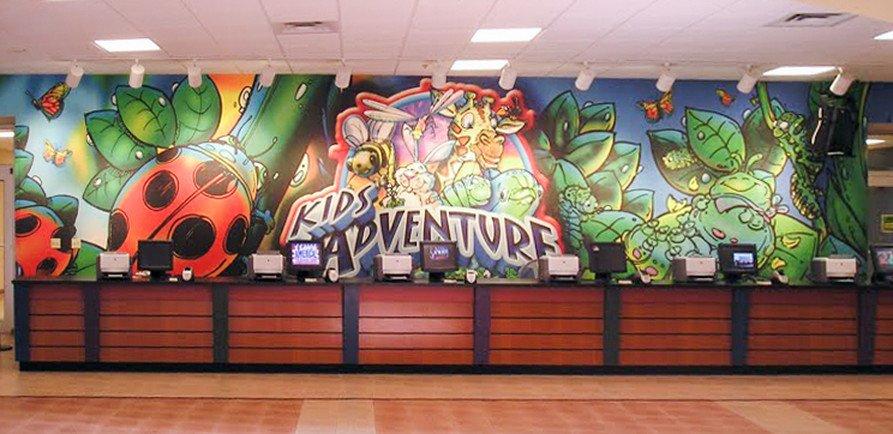 kids adventure wall decals graphics