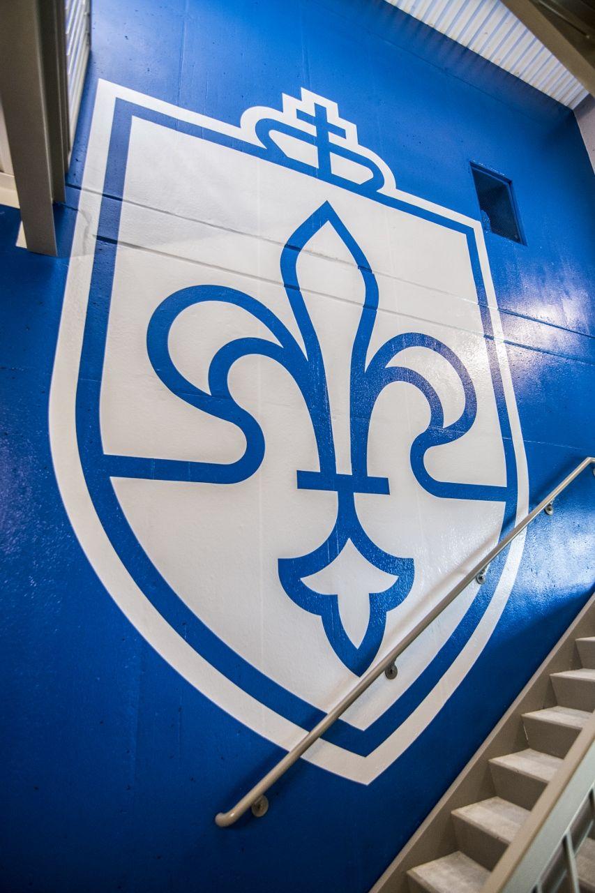 saint louis university crest wall decals graphics