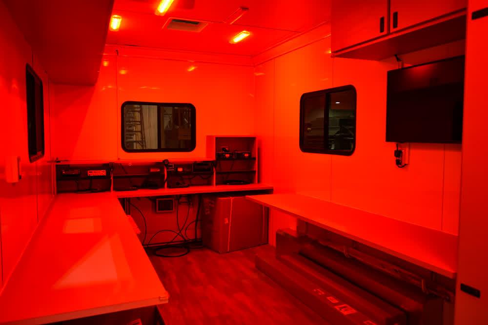 satern mobile command center trailer