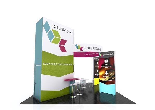 brightcove trade show service