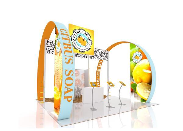 citrus soap trade show service