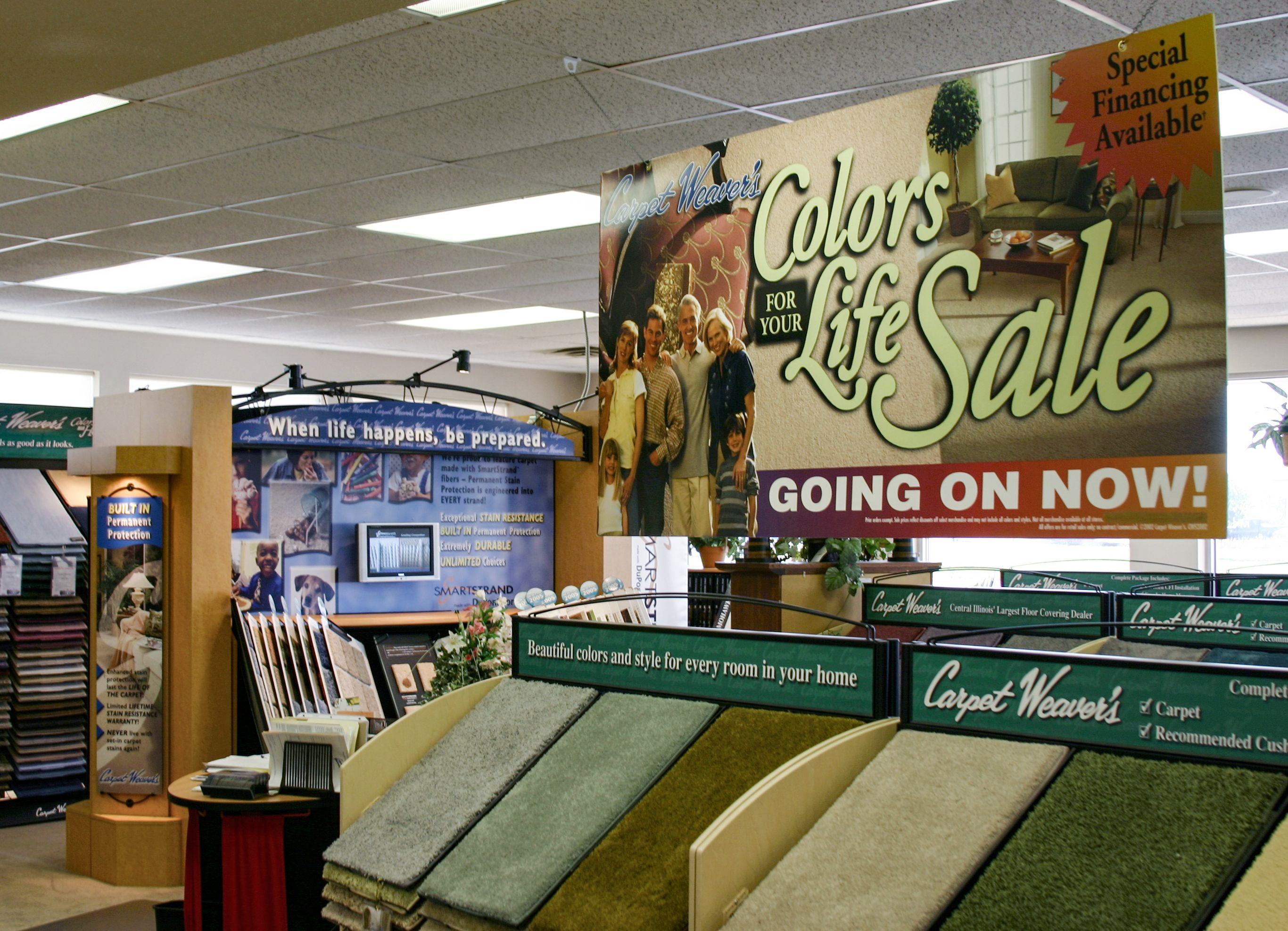 retail display signage