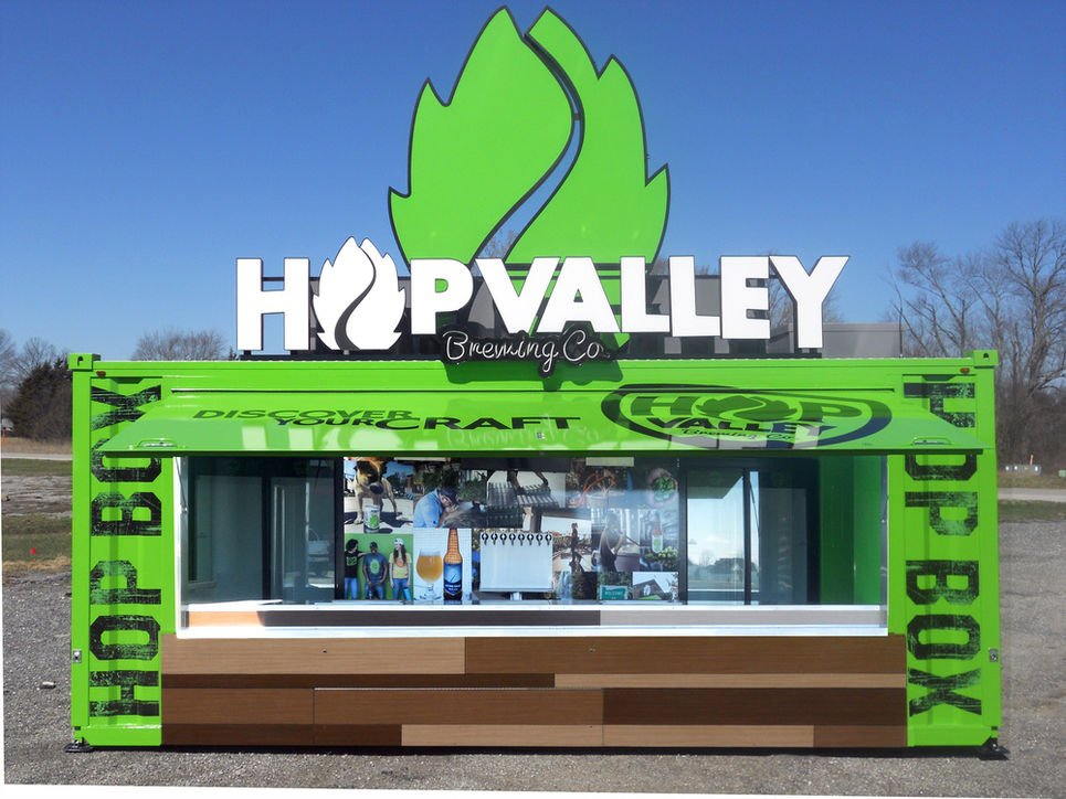 Experiences Matter with Hop Valley's Hop Box Mobile Bar