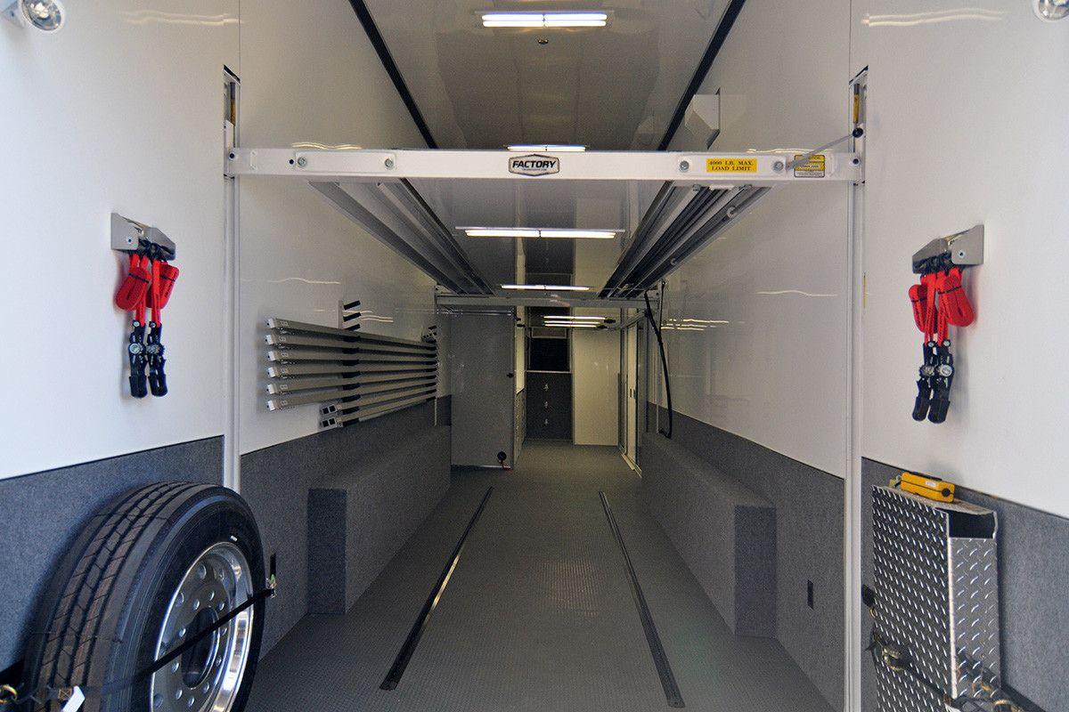 Interior of Transport Rear