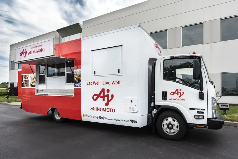 ajinomoto custom food truck builders