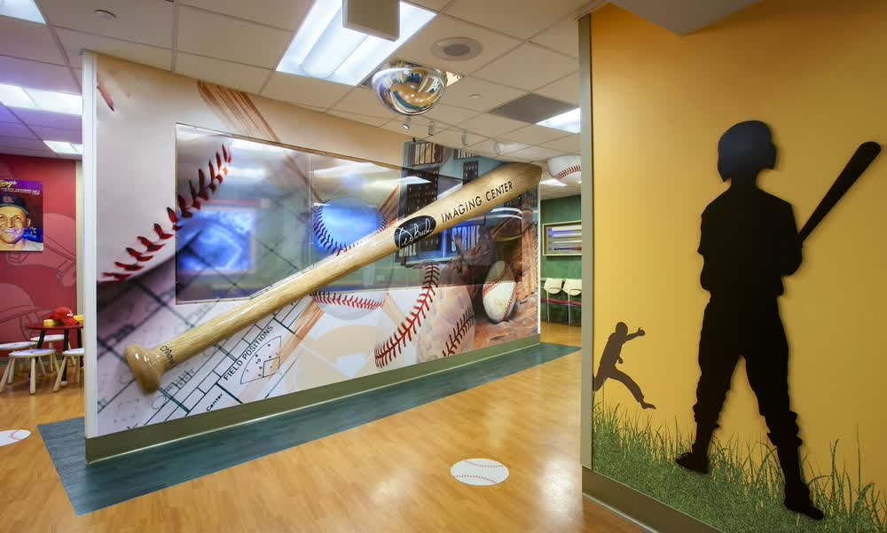 childrens hospital architectural signage companies