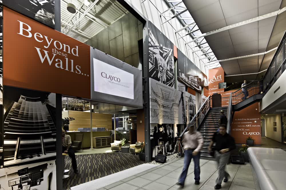 clayco architectural signage companies