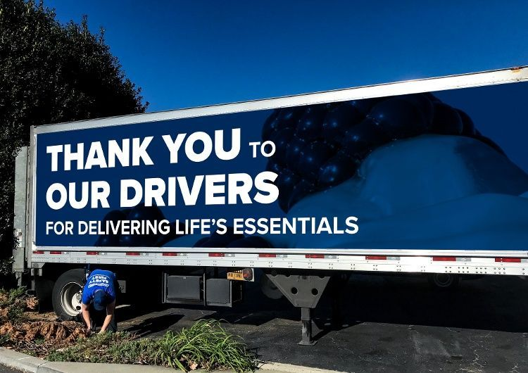 covid thank you trailer covid safety graphics