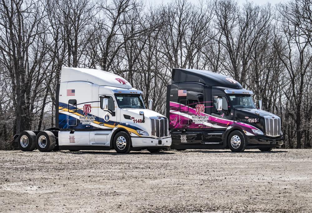 woody bogler trucks fleet graphics