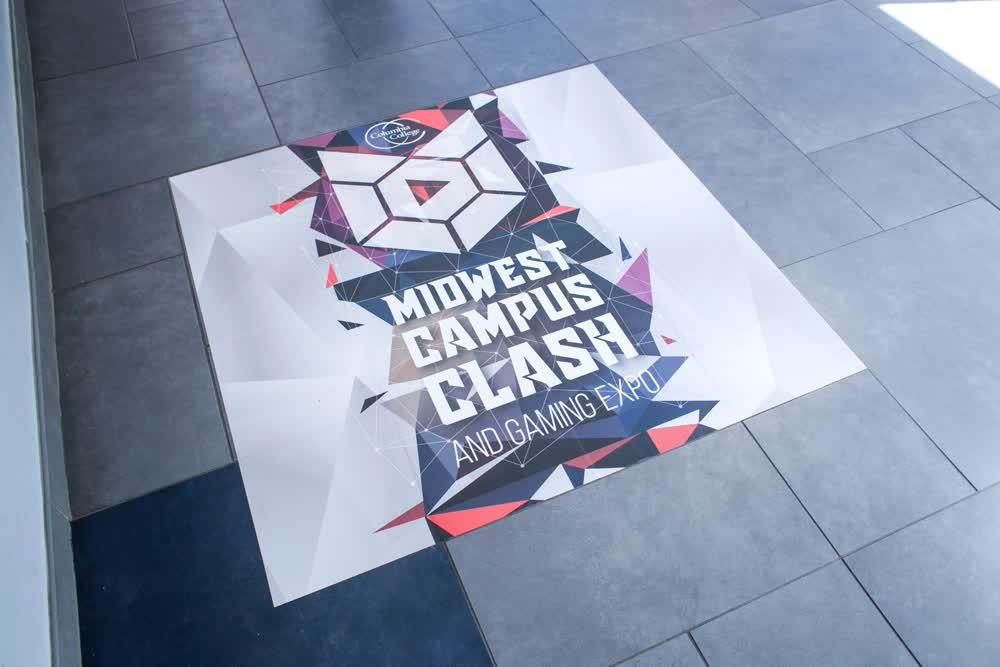 midwest campus clash floor graphics