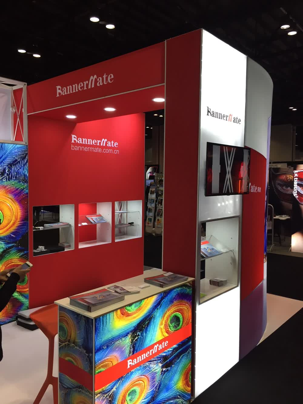 bannermate trade show displays