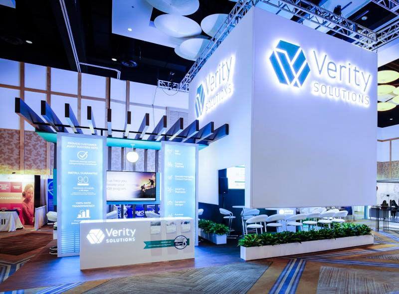 verity trade show displays