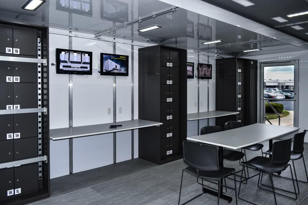 multi purpose mobile command center trailer