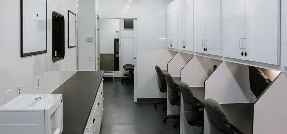 seats mobile command center trailer